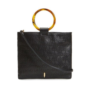 Le Pouch in Black and Tortoise