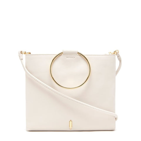 Le Pouch in White and Gold