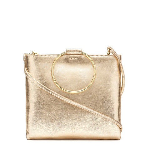 Le Pouch in Gold