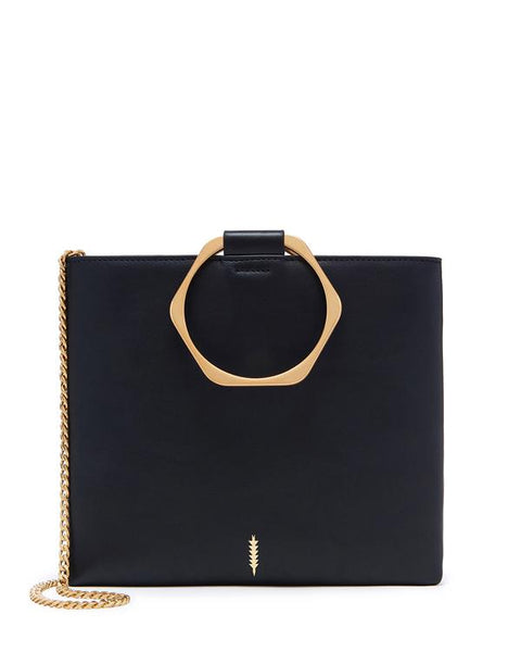 Le Pouch Hexa in Black and Gold