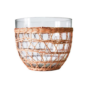 Rattan Cage Salad Bowl - Large