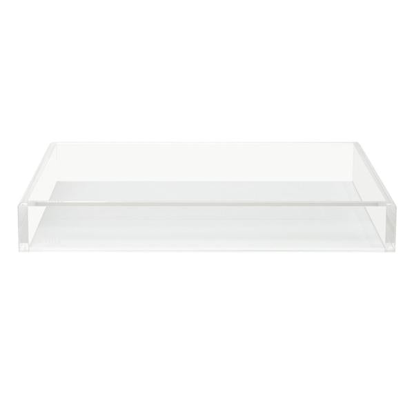 Large Acrylic Tray in White