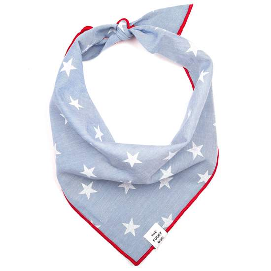 The Foggy Dog Liberty Dog Bandana