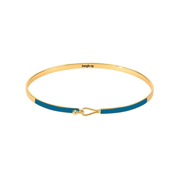 Lily Bangle in Duck Blue