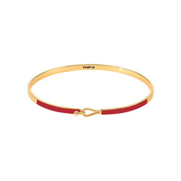 Lily Bangle in Velvet Red
