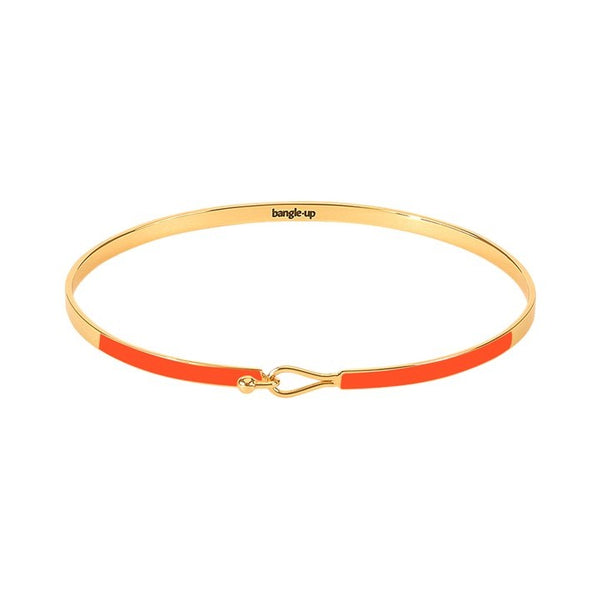 Lily Bangle in Tangerine