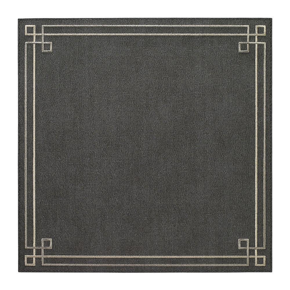 Charcoal Silver Link Placemat