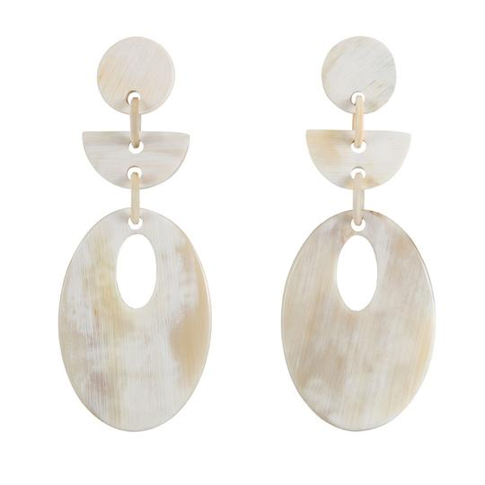 Vivo Buffalo Horn Earrings