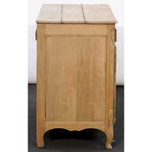 Load image into Gallery viewer, Northern French Louis XV Style, Stripped Oak Buffet with Carved Doors circa 1820