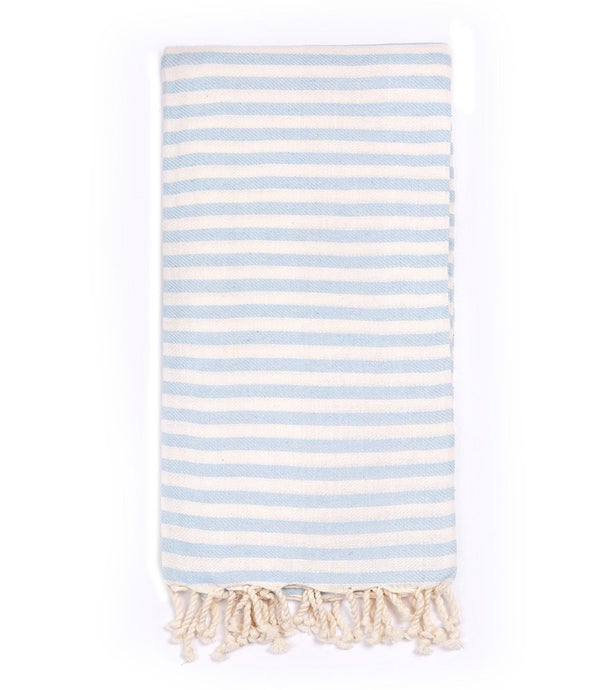 Turkish T Beach Candy Towel in Light Blue