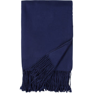 Fringe Throw in Assorted Colors
