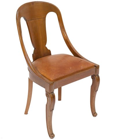 French Mahogany Chair