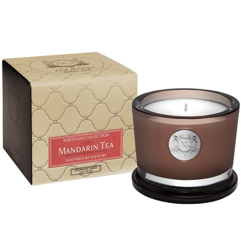 Aquiesse Mandarin Tea Small Soy Candle