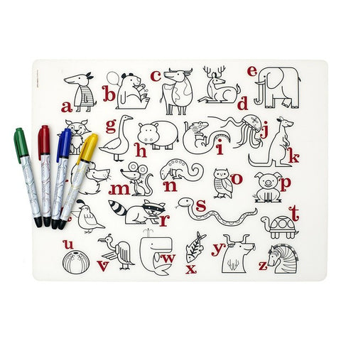 Alphabet Animals Mark-Mat