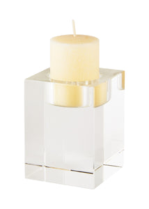 Medium Crystal Block Votive