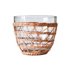 Rattan Cage Salad Bowl - Medium