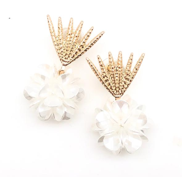 Shiver and Duke Mini Blossom Earrings