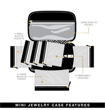 Load image into Gallery viewer, PurseN Tiara Mini Jewelry Case