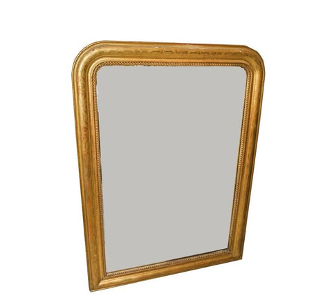 Beaded Louis Philippe Mirror