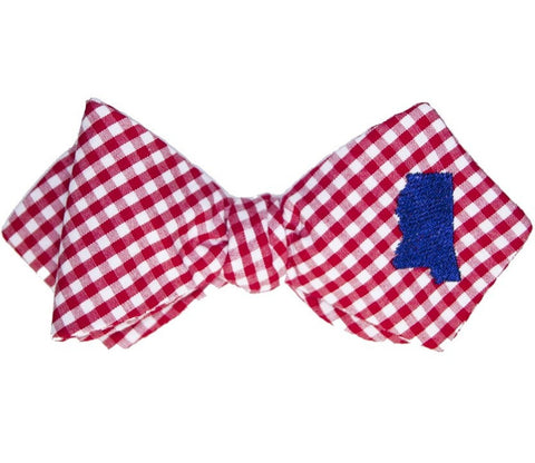 Olly Oxen Mississippi Bow Tie