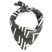 Load image into Gallery viewer, The Foggy Dog black Modern Mud Bandana