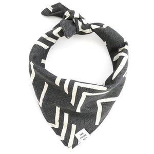 The Foggy Dog black Modern Mud Bandana