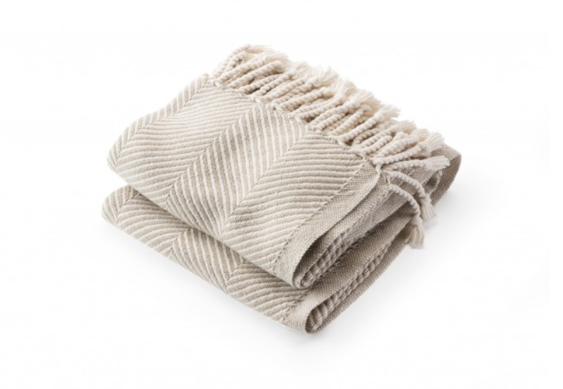 Natural Stone Monhegan Throw
