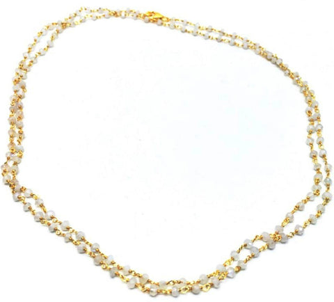 Erin Gray Design Moonstone Over Vermeil Necklace