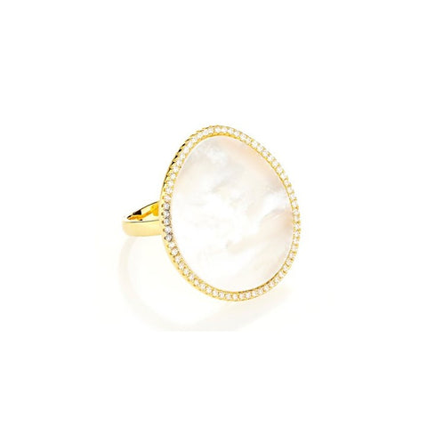 Elyssa Bass Designs Mother of Pearl Ring