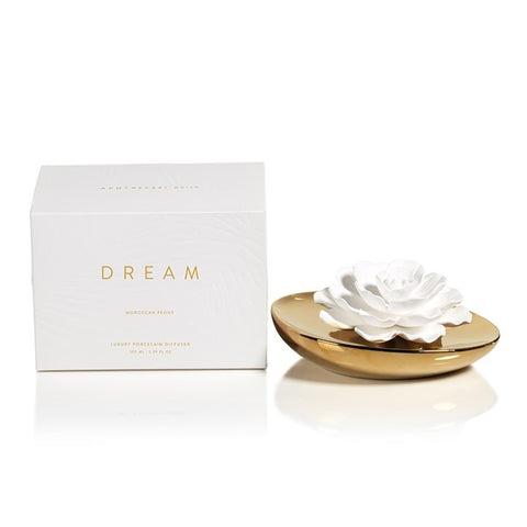 Dream Porcelain Flower Diffuser in Moroccan Peony
