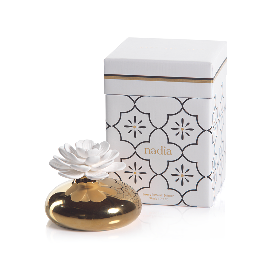 Porcelain Moroccan Peony Diffuser