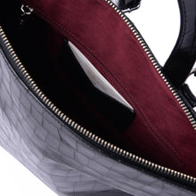 Load image into Gallery viewer, Naomi Bag in Black Croc