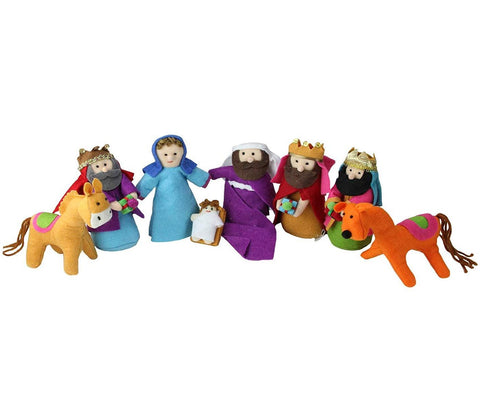 8-Piece Nativity Set