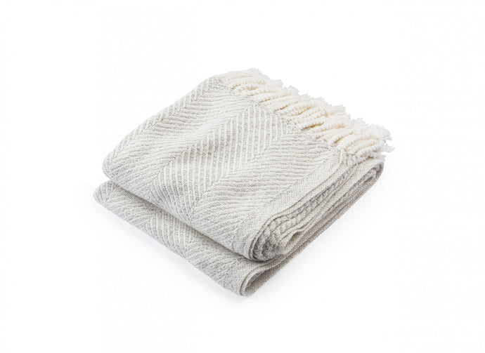 White Heather Newfield Throw