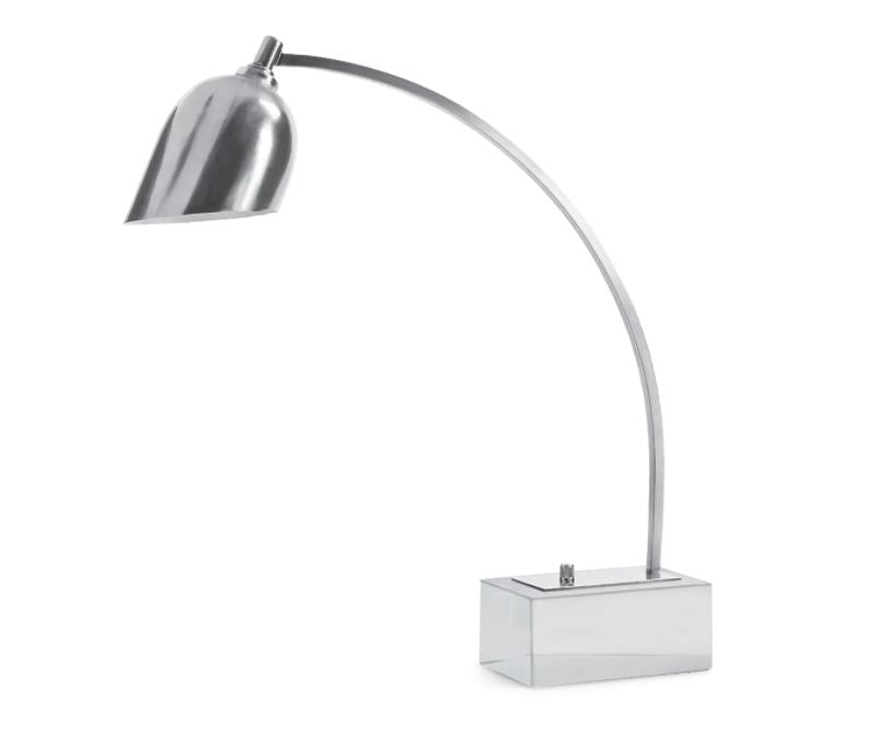 Polished Nickel Task Lamp