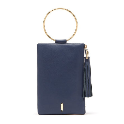 Nolita Clutch in Midnight and Gold