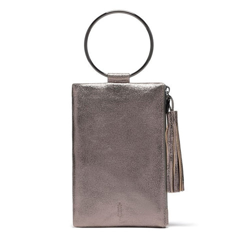 Nolita Clutch in Pewter