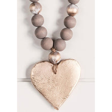 Load image into Gallery viewer, The Sercy Studio Norah Cross/Heart Blessing Beads