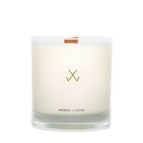 Oakmoss and Leather Candle