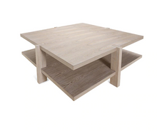 Load image into Gallery viewer, Grey Oak Coffee Table