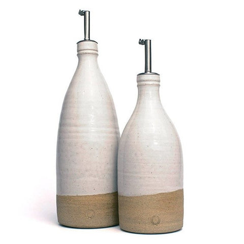 Farmhouse Pottery Olive Oil Bottles