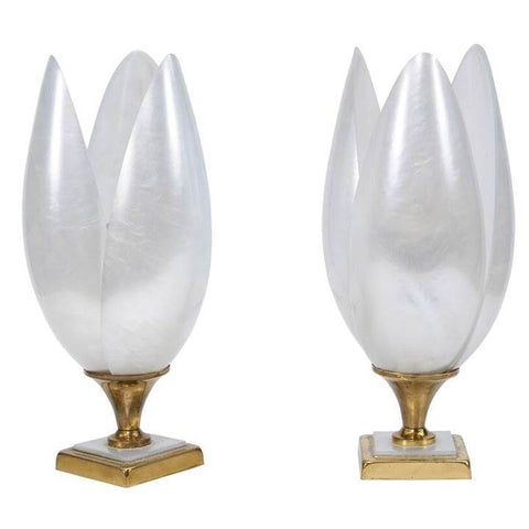 Pair of French Rougier Lamps