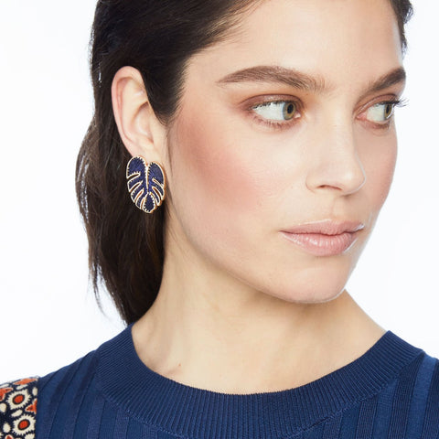 Mignonne Gavigan Palmer Stud Earrings