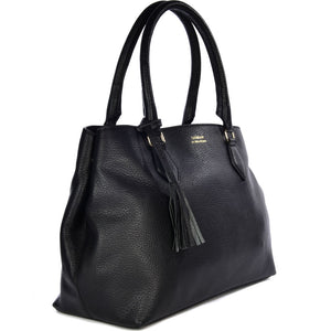 Loxwood Pamina Shoulder Bag in Licorice