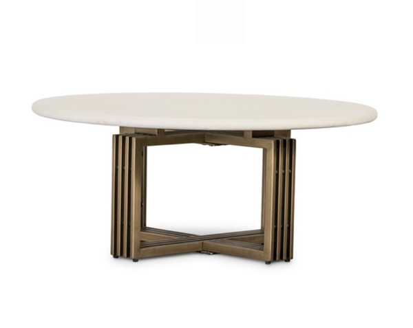 Parchement White Coffee Table