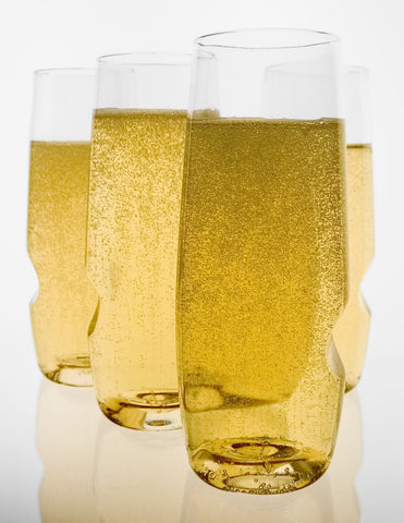 Govino Champagne Flutes, Set of 4