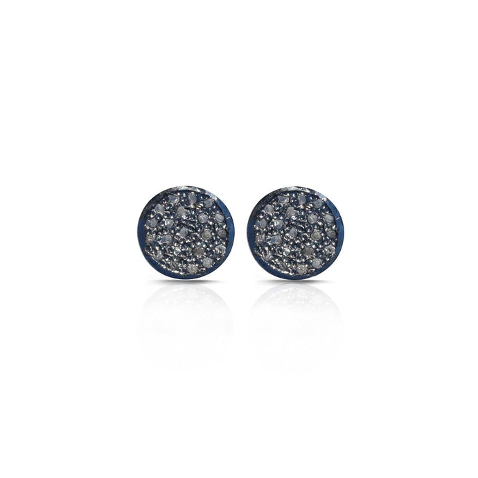 S. Carter Designs Pave Diamond Stud Earrings