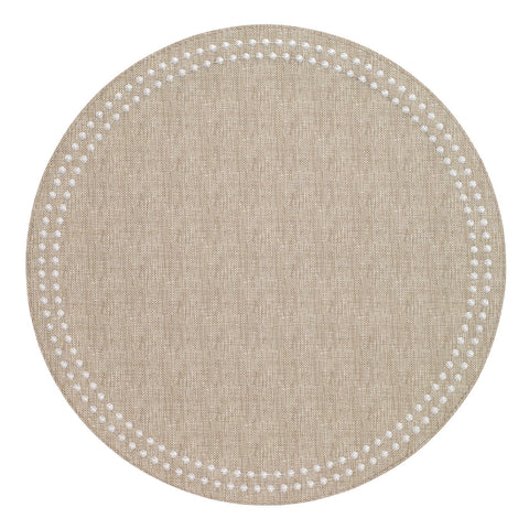 Pearls Placemat in Beige
