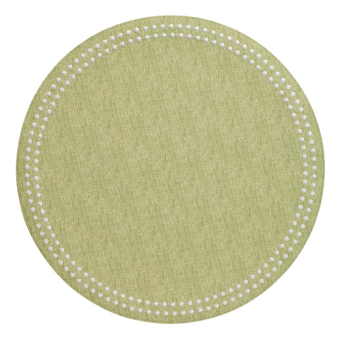 Pearls Placemat in Fern