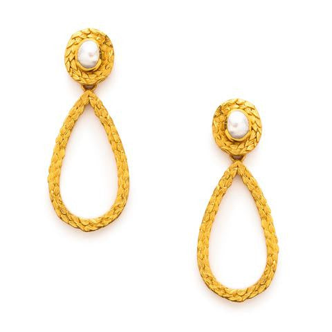 Julie Vos Penelope Statement Earrings